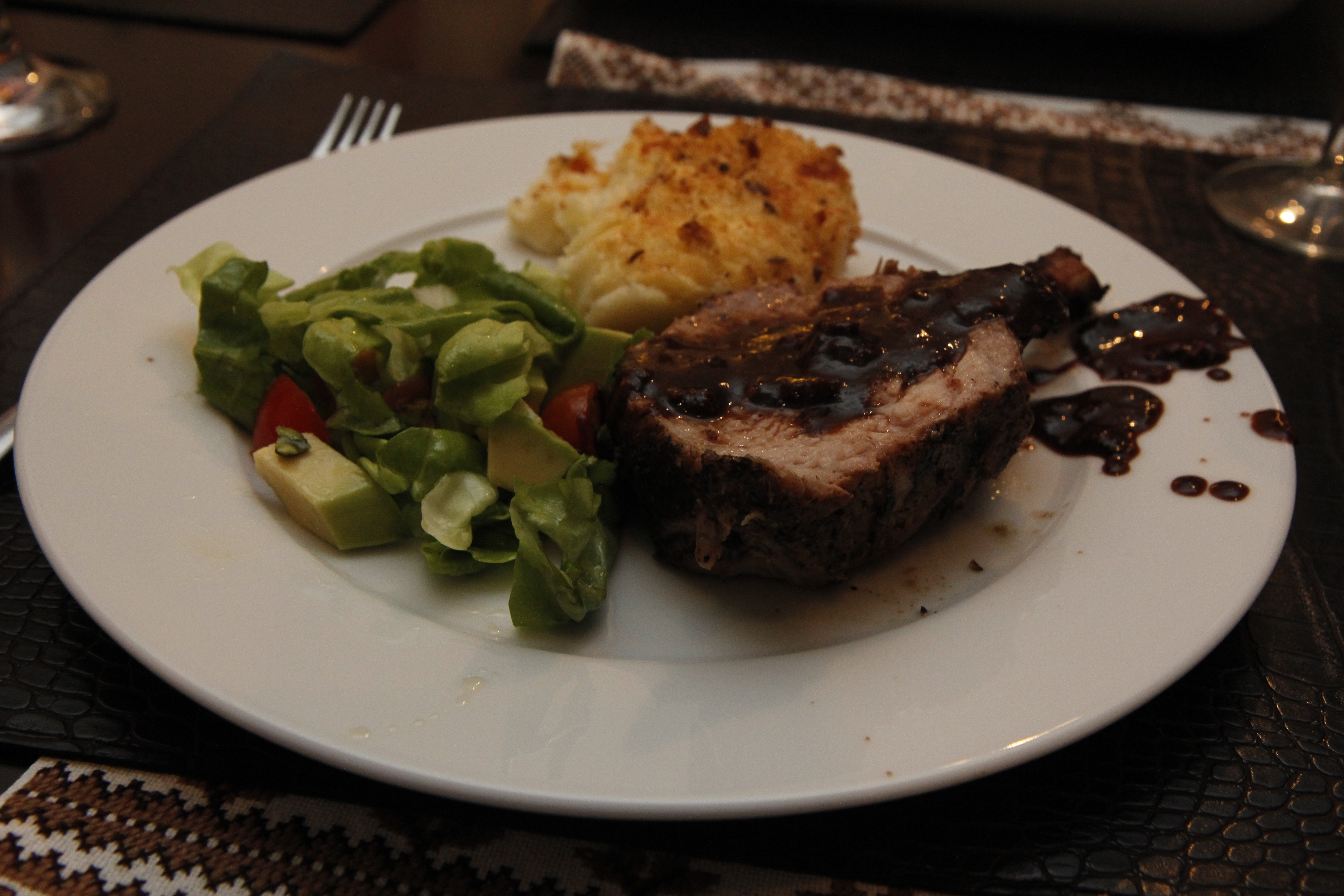 Steak With Ginger Plum Barbecue Sauce Recipe — Dishmaps